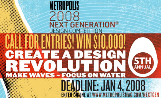 Metropolis, Next Generation Design Competition, Water
