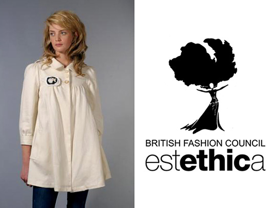 Estethica, London Fashion Week, British Fashion Council, UK eco fashion, ethical fashion, London sustainable style, Ada Zanditon, Summer Rayne Oakes, Junky Styling, NOIR, NOIR London Fashion Week, From Somewhere, Elena Garcia, Conscious Designers Collective, Roving Ethical Catwalk, DAFRA