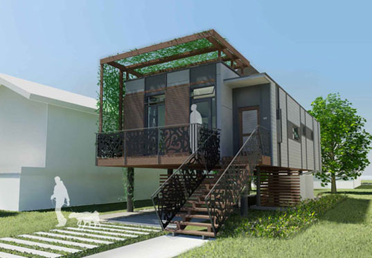Make it Right, Brad Pitt, Sustainable Homes, Nola, ReBuilding New Orleans,