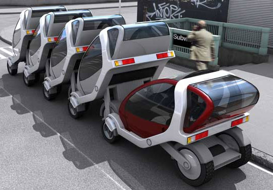 TRANSPORTATION TUESDAY, MIT Stackable City Car, Folding City Car, Green Public Transportation, Car Sharing, city car, MIT, electric, lithium, ion, battery, batteries, last mile, public transport, car sharing