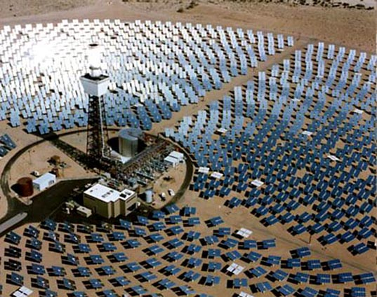 Mojave1, Solar Power Plant, World's Largest Solar Power Plant, Solar Energy, Photovoltaics, PG&E, Solar Power, solar-thermal energy, Brightsource Energy, distributed power tower, mojave desert, Pacific Gas and Electric