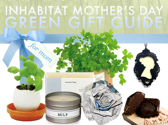 eco gift guide, green gift guide, mother's day, green gifts, gifts for mom, sustainable gifts, fairly traded gifts, presents, inhabitat gift guide