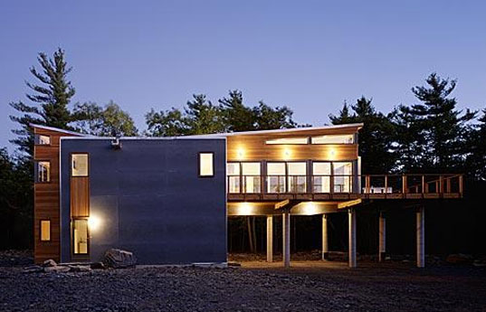 Resolution 4 Architecture, Resolution 4, Prefab Friday, Prefab house, Prefabrication, Mountain Retreat