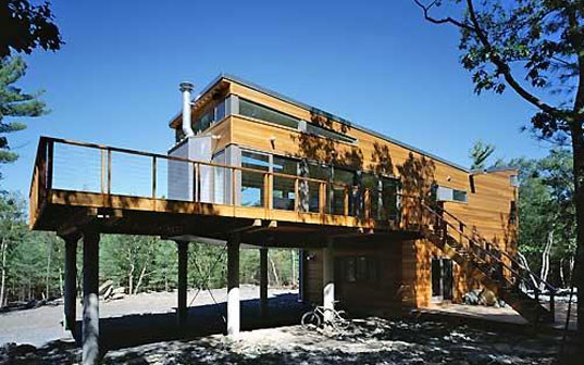 Resolution 4 Architecture, Resolution 4, Prefab Friday, Prefab house, Prefabrication, Mountain Retreat 2
