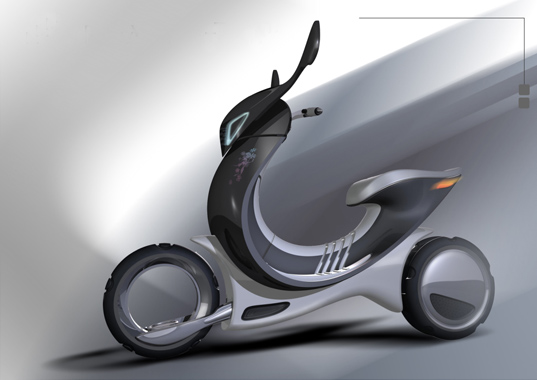 Movito Electric Scooter, Scooter, Create The Future Design Contest, Tai Chem Scooter, NASA award winning scooter, green design, sustainable transportation