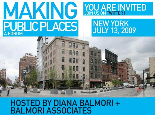 Making Public Places, Balmori Associates, public space, urban design, event