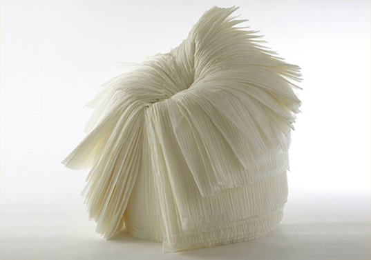 Nendo, Japan, Nendo Cabbage Chair, Nendo recycled textile waste, Nendo pleated fabric furniture, Nendo green design, XXI Century Man, Issey Miyake nendo_cabbagechair537_2.jpg