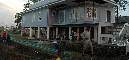 Net Impact, MakeItRight, NOLA, Rebuilding New Orleans, Sustainable Building, Disaster Relief