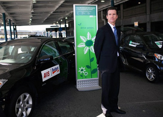 gavin newsom, sustainable design, ev grid, electric vehicle, alternative transportation, san francisco