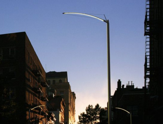 new york led streetlamps, led street lights, urban design, sustainable design, green technology, sustainable lighting, led streetlamps, energy efficient lighting, nyc office for visual interaction