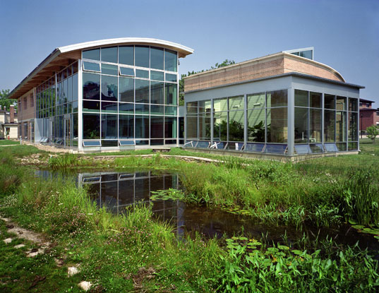 Oberlin College, Adam Joseph Lewis Center for Environmental Studies, Environmental Studies, Sustainable Building, William McDonough, WM+P