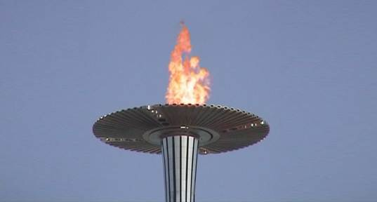 olympic torch carbon neutral energy, carbon neutral, olymp