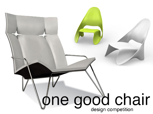 one good chair competition, one good chair winners, sustainable design, recycled materials, Jittasak Narknisorn, Posi+ive Lounge Chair, Jessica Konawicz, Pandanus Chair