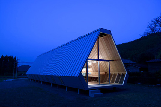 Onigiri, NKS Architects, Onigiri House, Japan, Japanese, sustainably harvested wood, sustainable wood, cedar, local materials, Oita, sustainable building, green architecture, onigiri1