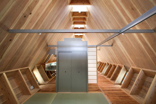 Onigiri, NKS Architects, Onigiri House, Japan, Japanese, sustainably harvested wood, sustainable wood, cedar, local materials, Oita, sustainable building, green architecture, onigiri2