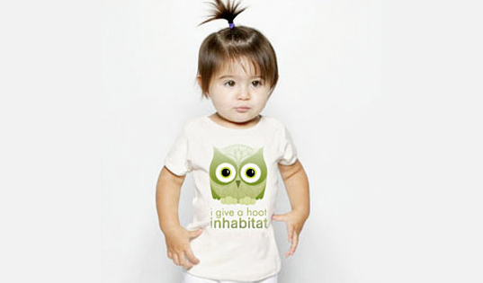 inhabitat green gift guide, sustainable design, xmas gift guide, christmas present guide, green gifts for girls, inhabitat owl shirt