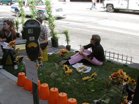 Parking Day, Park(ing) day, rebar, public architecture, trust for public land, public park events, san francisco parks, green events