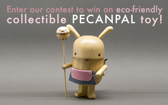 pecanpal, pecan pal, pecan-pals, pecan pals, pecanpals, fanelli, limited edition toys, eco friendly toy, eco collectible, collectible eco toy, collectible wooden toy, eco wooden collector's toy, green collectible, japanese toys, collectible green japanese toys