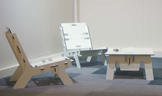sustainable design, green design, flatpack furniture, furnishings, interiors, pelikan