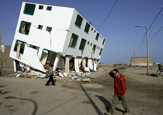 Architecture for Humanity, Peru Earthquake, post-disaster reconstruciton, humanitarian design, cameron sinclair, donate architecture, design like you give a damn