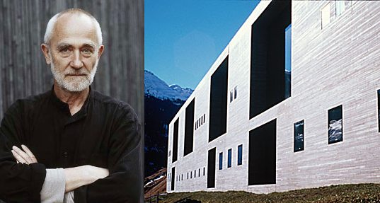 Peter Zumthor, pritzker architecture laureate, 2009 pritzker winner, architect, designer, Thermal Vas