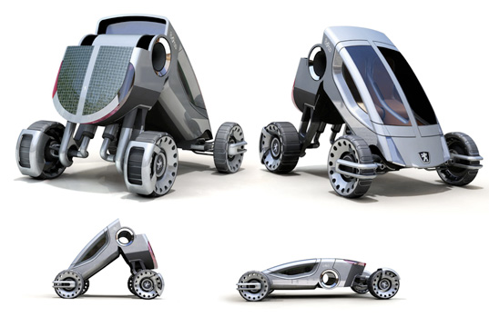 peugeot 888, 888, oskar johansen, norway, design challenge, 2008, shrinking car, shrinking vehicle, small vehicle, shrinking hybrid