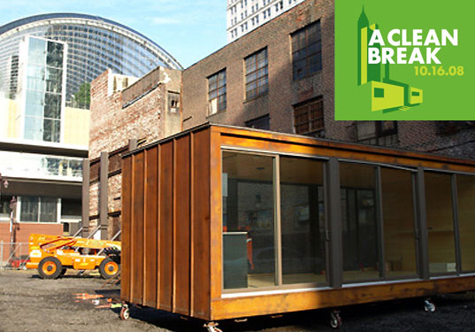 design philadelphia, national design week 2008, national design week philadelphia, minima gallery, prefab housing philadelphia, a clean break exhibit, a clean break, affordable housing, sustainable housing, urban environment housing