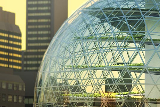 plantagon, sustainable design, green design, vertical farm, urban farming, sustainable agriculture, geodesic farm
