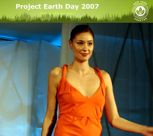 project earth day, eco fashion, eco fashion design, sustainable style, organic fashion, egbny teknion o2nyc green drinks
