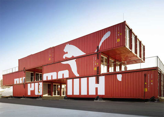 Things You Must Consider When Designing A Container House: Puma City Shipping Container Store Comes To Boston's Fan