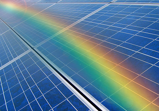 rainbow solar material, photovoltaic cells, alternative energy, ohio state institute for materials research, solar rainbow technology, visible light