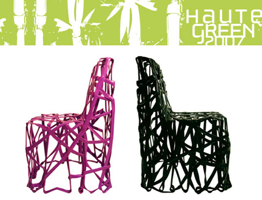 roughly drawn, rd4, codha, hautegreen 2007, chair, recycled plastic furniture