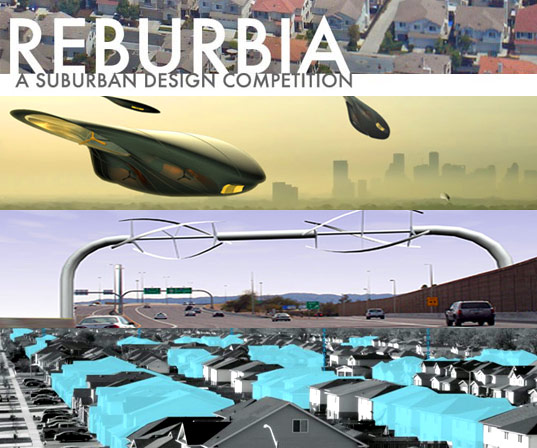 reburbia competition, inhabitat, dwell magazine, suburban design