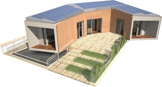 refract house, cca, scu, california academy of the arts, santa clara university, solar decathlon, sustainable design, green design, zero energy home