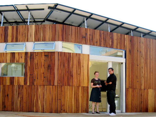 solar decathlon, santa clara university, california college of arts, refract house, silicon valley students, student competitions, student engineers, student architecture, solar powered house, energy efficient house, green building, renewable energy, smart house
