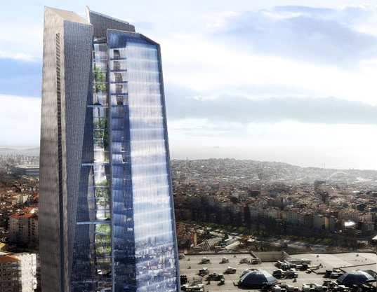 sustainable design, green building, bioclimactic architecture, sustainable urbanization, park associati, regnum tower, istanbul