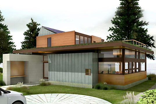 coates design, ellis residence, puget sound residence, seattle residence, seattle housing, leed pla