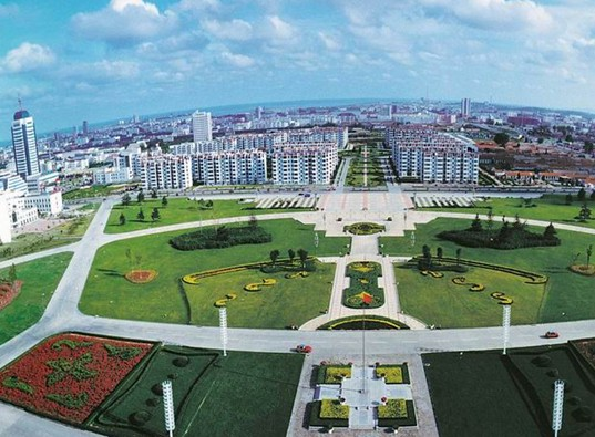 Rizhao City, Shandong Province, China, Solar-Powered City