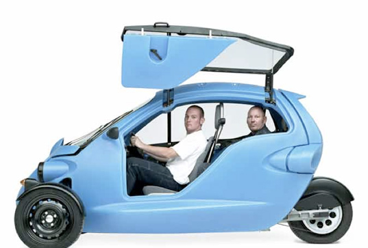 SAM, Cree, all-electric vehicle, emission-free vehicle, electric car, prototype, recyclable, automobile
