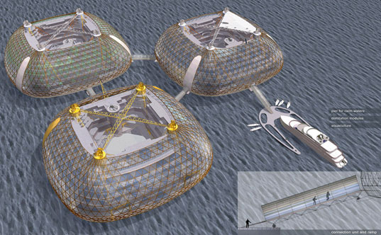 sesu seastead, ocean living, innovation, self sufficient, Marko Järvela, design competition, seasteading, modular platforms, hydrodynamics, new frontiers, community