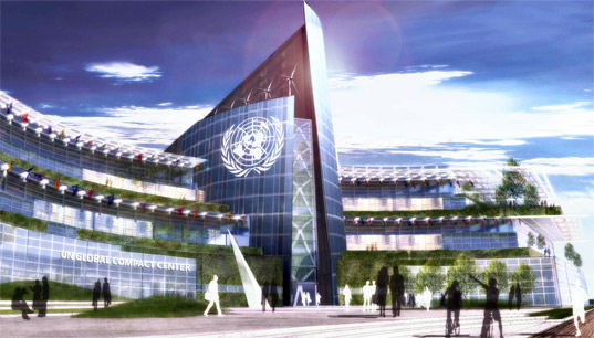 un, innovation, san francisco, mayor newsom, sustainable design, green design, un global compact center