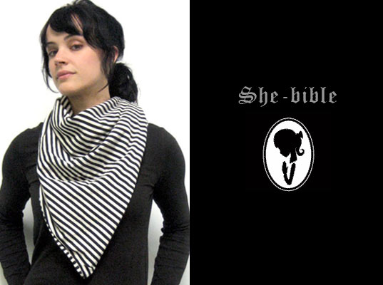 she-bible, sustainable style, eco friendly basics, she bible, she-bible bandit scarf