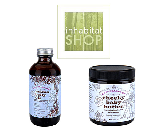 BabyBearShop, Mama Belly Oil, Cheeky Baby Butter, organic skin care, certified organic products, organic beauty, organic baby care, mommy care, sustainable style beauty