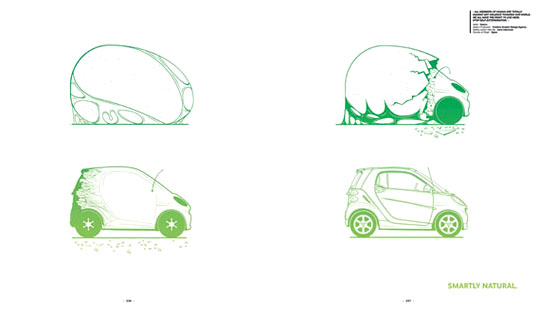 Smart Car, Smart Car USA, Smart Car Sideways, Sideways: A Smart Art Project, Smart Car book project, Smart Car art project, Smart Car environmental art, Smart Car eco-art