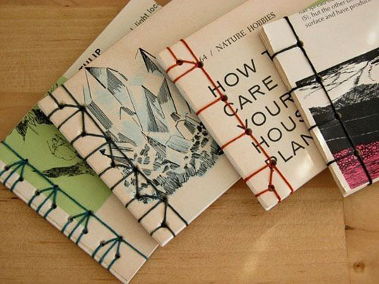 sustainable design, green design, last minute gifts, green christmas presents, eco holiday gifts, DIY sketchbook