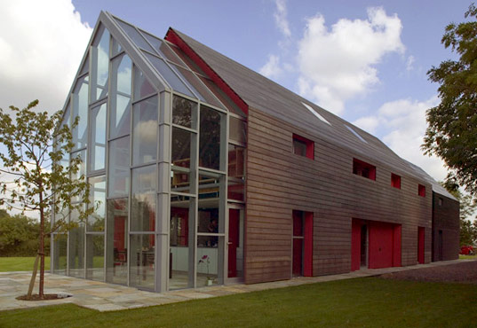 The sliding house by drmm inhabitat sustainable design House with movable walls