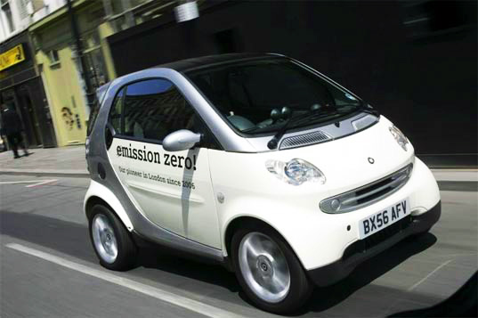 smart fortwo electric, smart vehicle, daimler electric vehicle, smart car, smart electric car