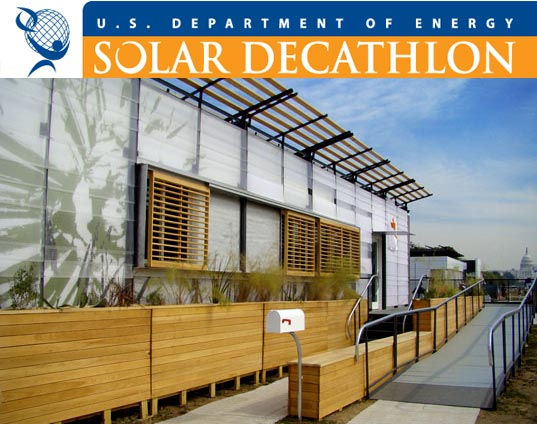 Solar Decathlon, solar power, energy efficiency, energy efficient buildings, alternative energy, steven chu energy secretary, sustainable building, energy efficient homes, green homes, renewable energy, solar energy, us department of energy