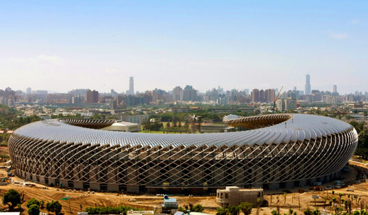 Taiwan's solar powered stadium