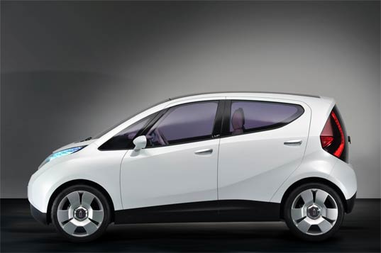 solar blue car, solar electric vehicle, solar car, electric car, pininfarina, bollore, transportation tuesdays